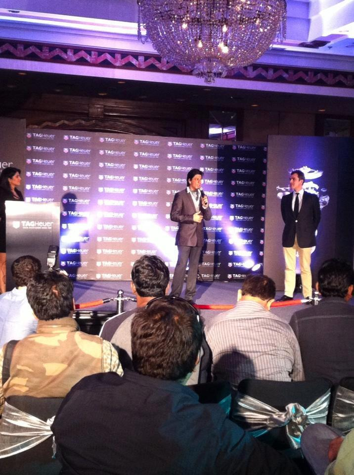 Shahrukh Khan Launched Tag Heuer's Carrera 1887 Collection