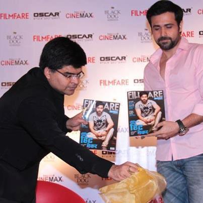 Emraan Hashmi Launches Latest Filmfare Magazine Issue At Cinemax