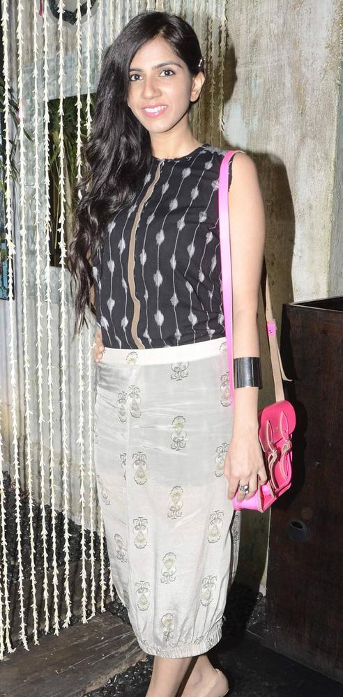Designer Nishka Spotted At A SoBo Venue