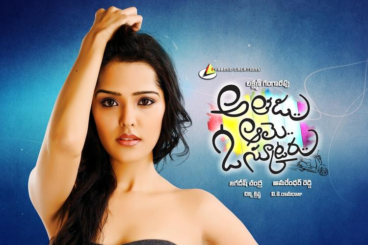 Priyanka Cute Sexy Pose Photo Movie Wallpaper