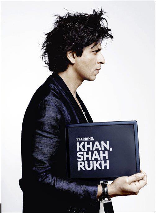 Shahrukh Glamorous Side Face Look Still