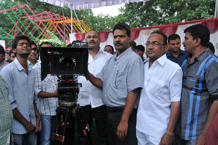 Team Members Photo Clicked At Pelli Pusthakam Movie Launch Event