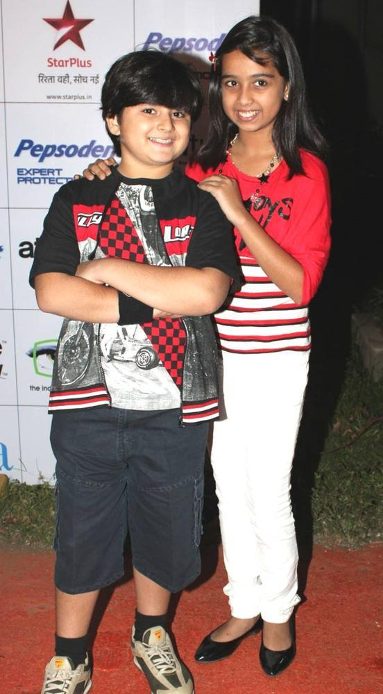 The Little Telly Stars Pose For Camera At The 12th ITAA 2012