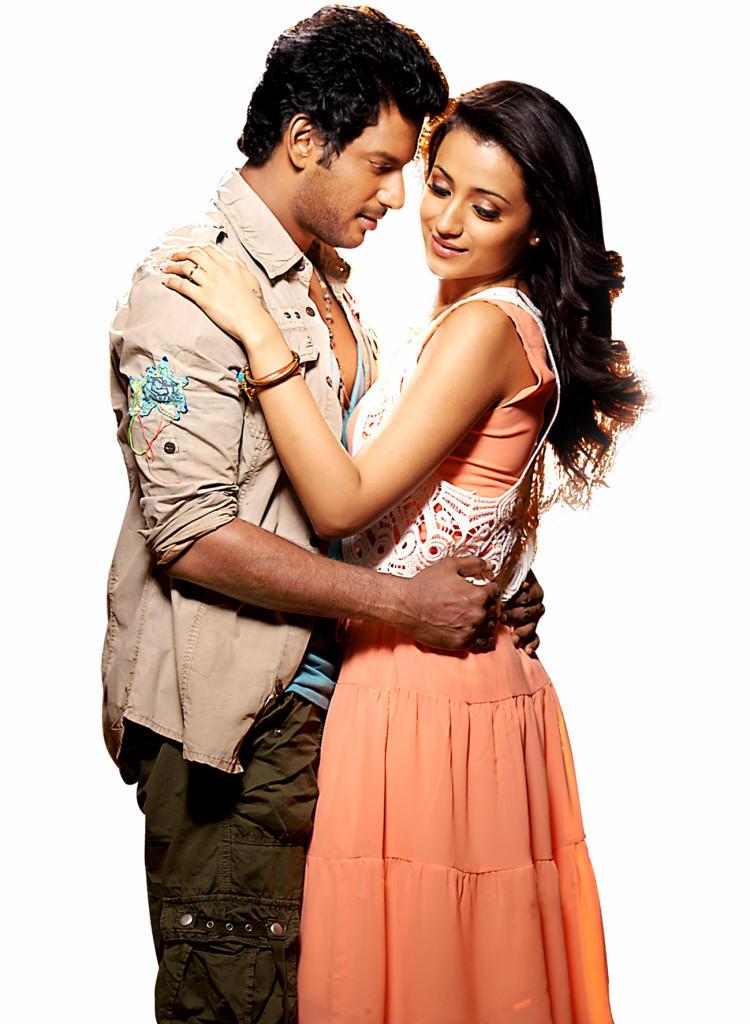Vishal And Trisha Romantic Scene From Samar Movie