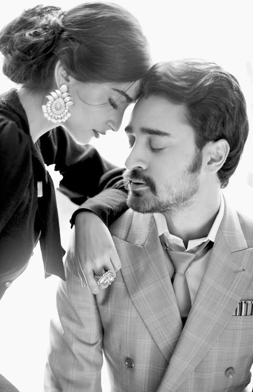 Sonam With Imran Hot Photo Shoot For Star Weeks Annual Style Issue 2012