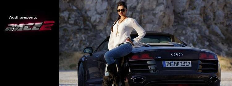 Deepika Galmour And Gorgeous Look Shoot For Promotes Audi Car