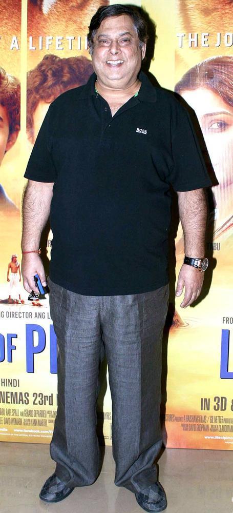 David Cute Smiling Still At Life Of Pi Premiere