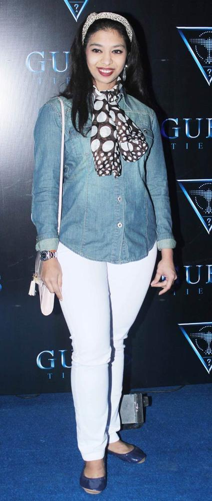 Anandita De Clicked On The Carpet At The Fashionable Night In ACloth Launch Event