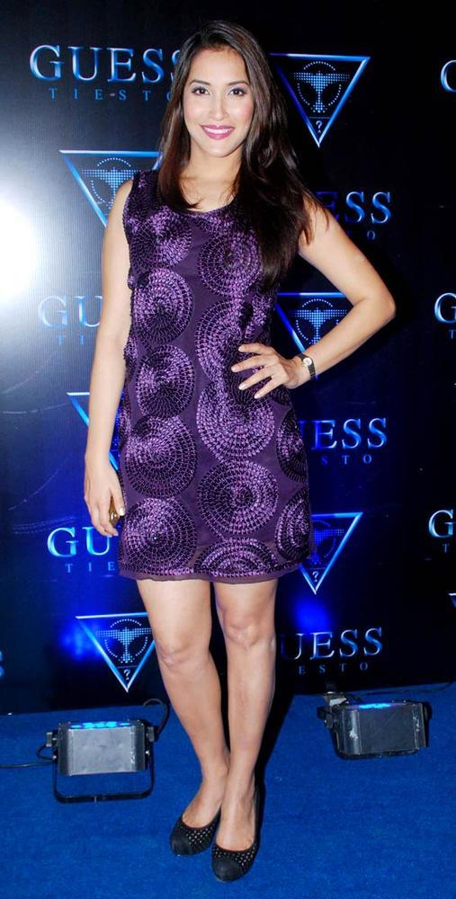 Rashmi Nigam At A Cloth Collection Launch Event