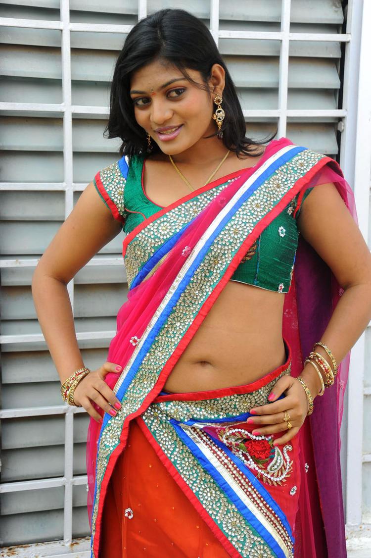 Soumya Navel Show Sexy Still At Chowrasta Movie Launch