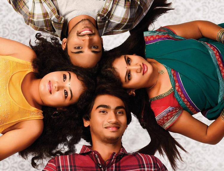 Geethanandh,Maithili,Krishna And Hasini Cool Still From Telisi Teliyaka Movie