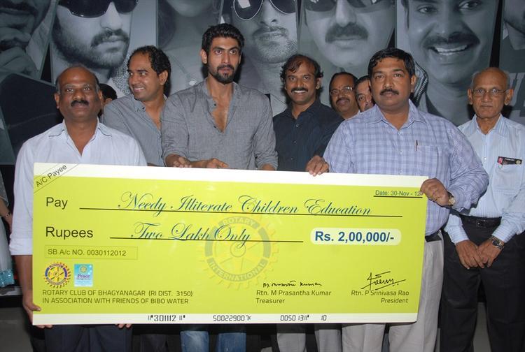 The KVJ Movie Team Donates 2 Lakh Rupees Photo