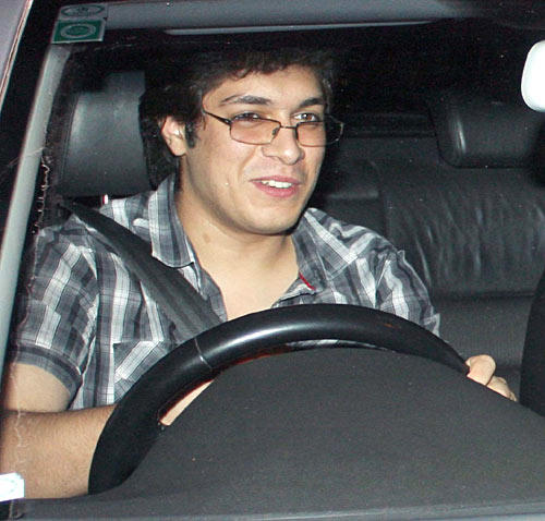 Aamir Khan And Ex-Wife Reena Dutta's Son Junaid Spotted At Aamir Khan Son Azad First Birthday