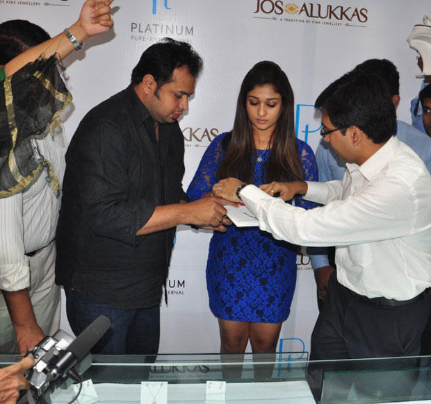 Nayanthara Graces The Jos Alukkas Platinum Jewellery Collection Launch Event