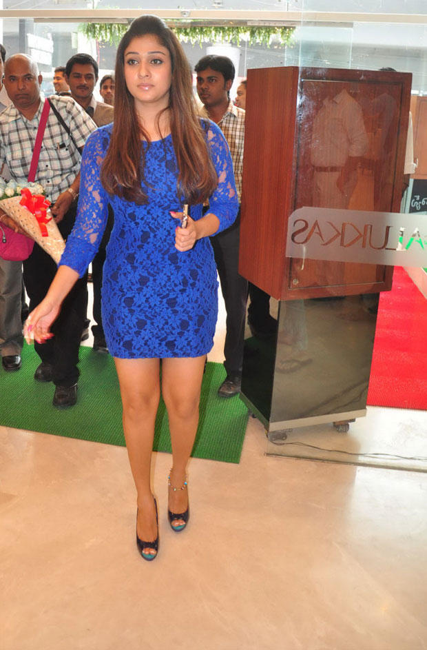 Nayanthara Snapped At Jos Alukkas Platinum Jewellery Collection