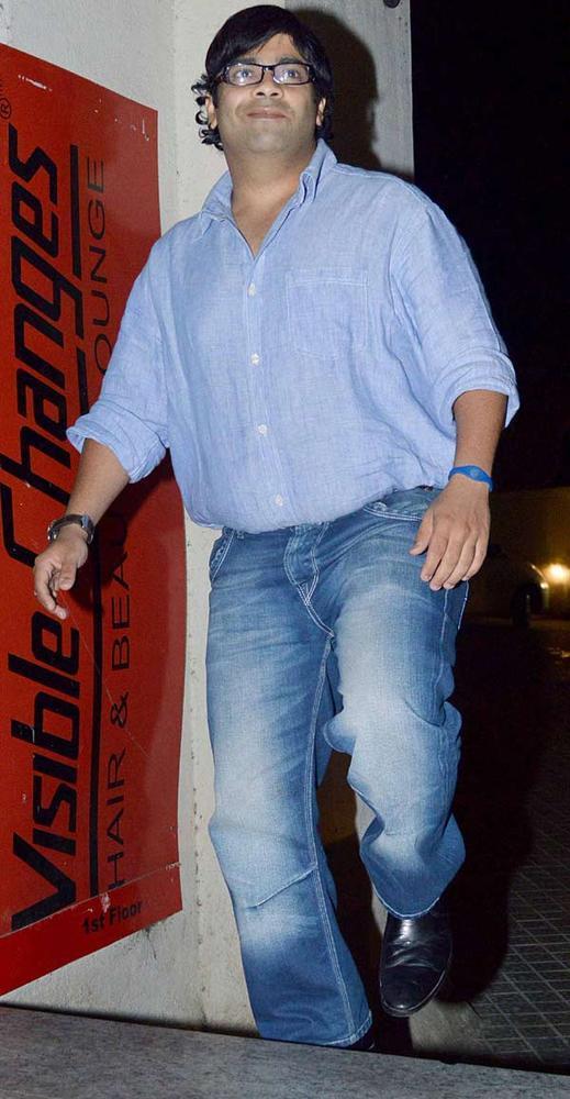 A Bollywood Celeb Spotted At Khiladi 786 Screening