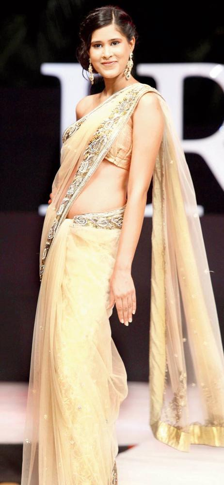 A Model In Libas By Riyaz Gangji