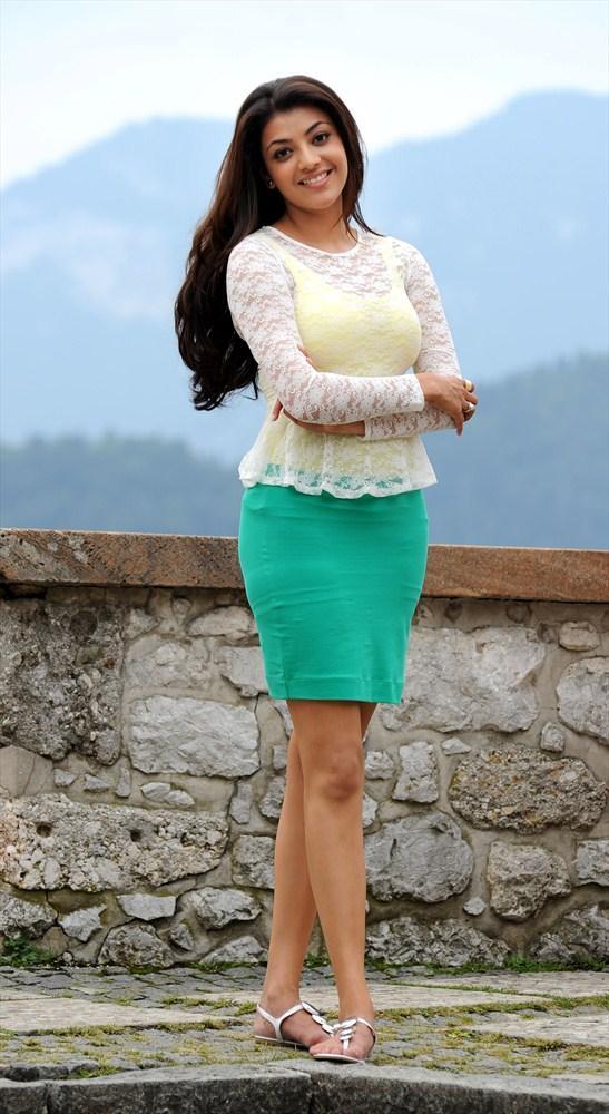 Kajal Aggarwal Cute And Cool Look Still