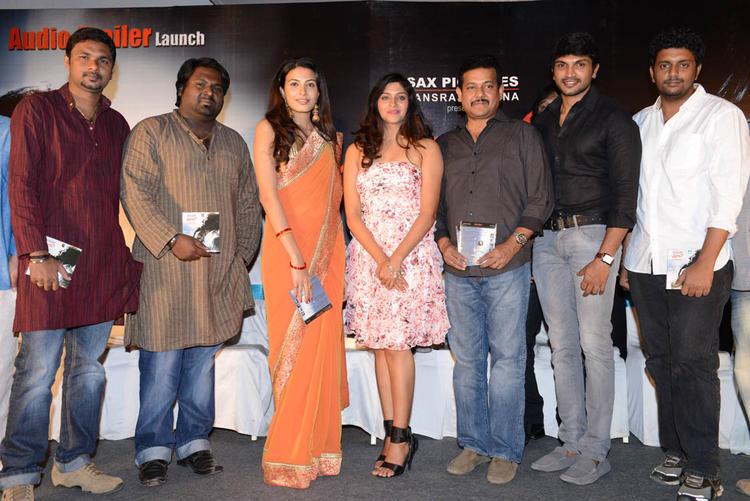Laxmi Nair And Kavya M Shetty At Shivani Audio Release Function