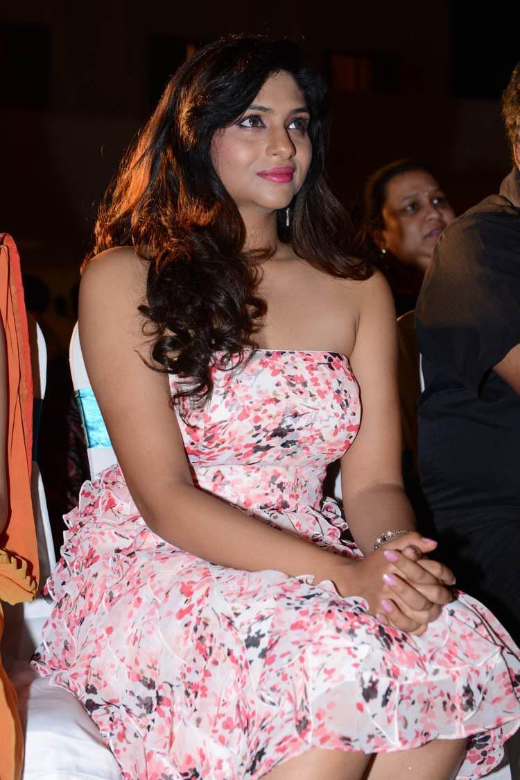 Laxmi Nair Hot Look At Shivani Audio Release Function