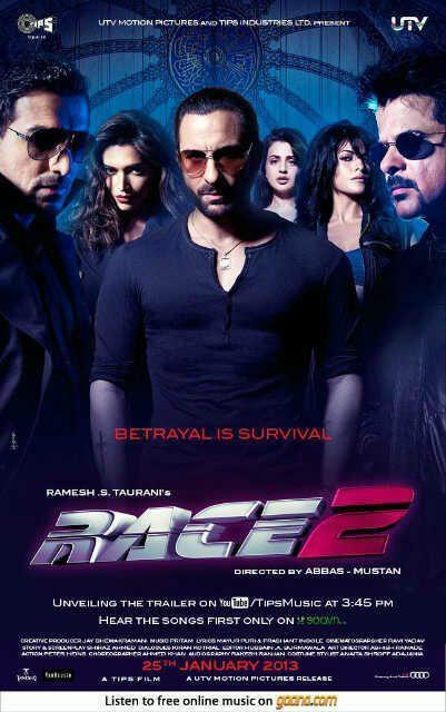 Movie Race 2 Entire Star Cast Wallpaper
