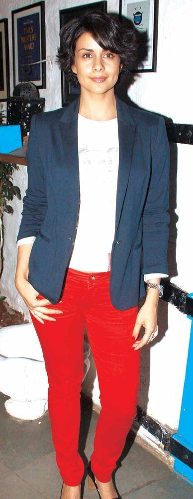 Gul Panag Spotted At The Launch Of Sanjay Chopra's New Book