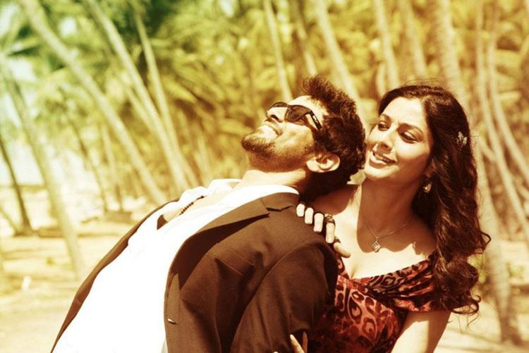 Vikram And Tabu Cute Smiling Still From Movie David