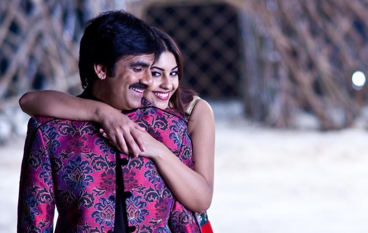 Ravi And Richa Cool Romantic Still From Sarocharu Movie