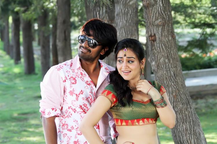 Srinivas And Aksha Song Still From Rye Rye Movie