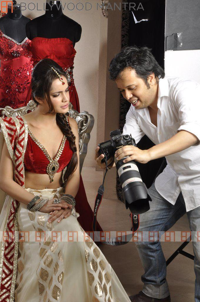 Shazahn And Luv Israni Photo Clicked During The Photo Shoot