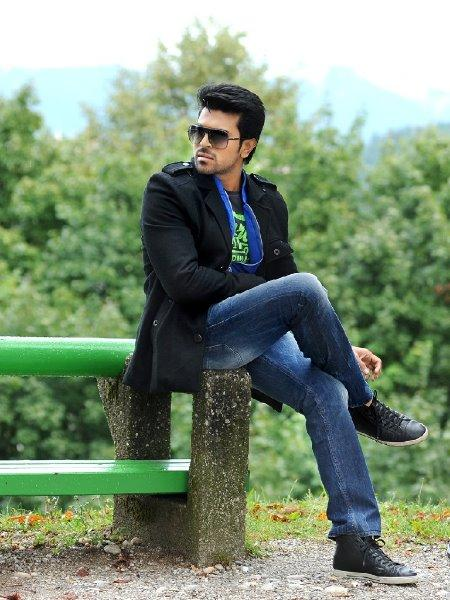 Ram Charan Stylish Look Photo From Telugu Movie Naayak