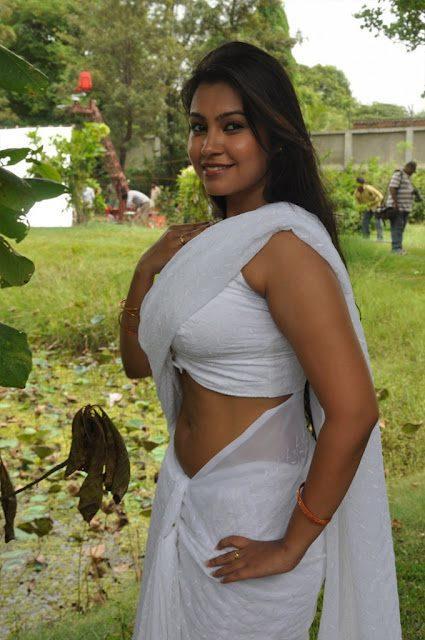 Varsha Spicy Pose Photo Shoot In Saree