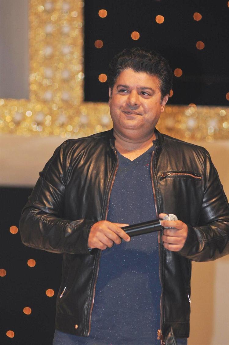 Sajid Khan During The Nach Baliye Season 5 Launch Event