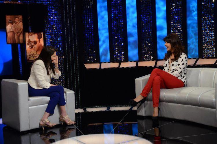 Priyanka Chopra On The Front Row With Anupama Chopra