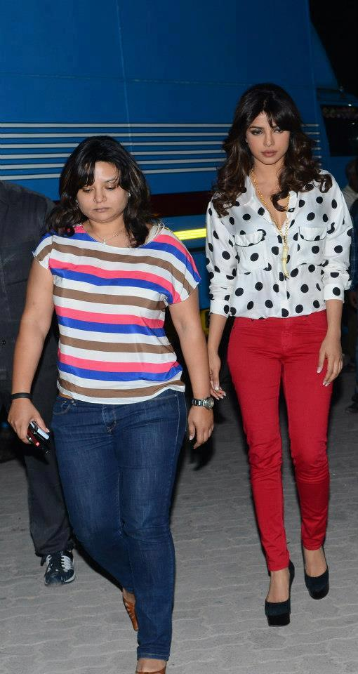 Priyanka Chopra Spotted On The Front Row Show
