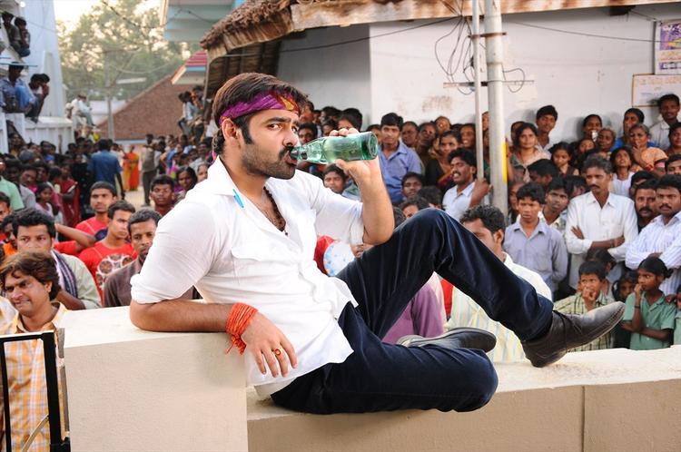 Ram Pothineni Cool Still From Ongole Githa Movie