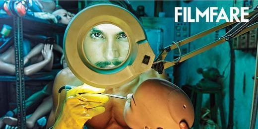 Ranveer Singh Face Look Photo Shoot For Filmfare January 2013 Issue