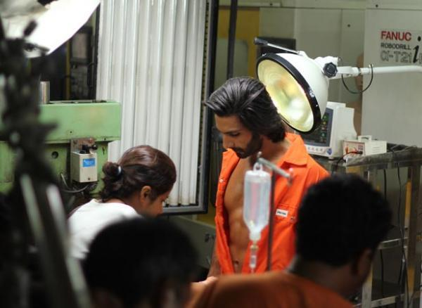 Ranveer Singh On The Sets Of Photo Shoot Of Filmfare January 2013 Issue