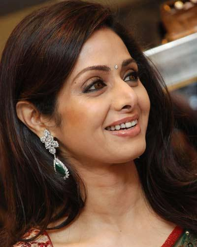 Sridevi Kapoor Smiling Look Photo Still