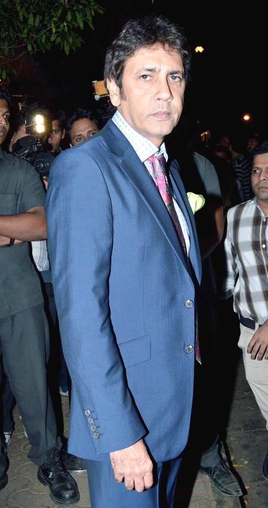 Kumar Gaurav Clicked At Bunty Walia Wedding Reception Bash