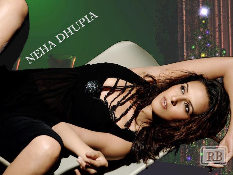 Neha Dhupia Spicy Wallpaper