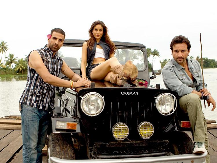 Akshay Kumar,Saif Ali Khan and Kareena In Tashan