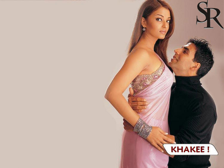 Ash and Akshay In Khakee