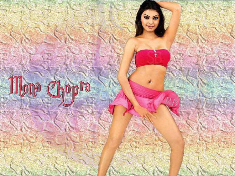 Mona Chopra Mini Skirt Hot Wallpaper