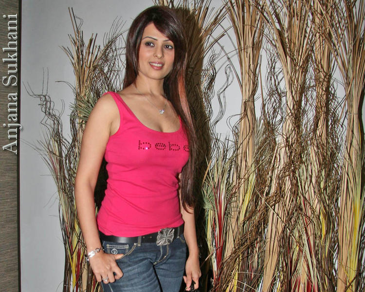 Anjana Sukhani Looks Hot With Pink Tops and Jeans
