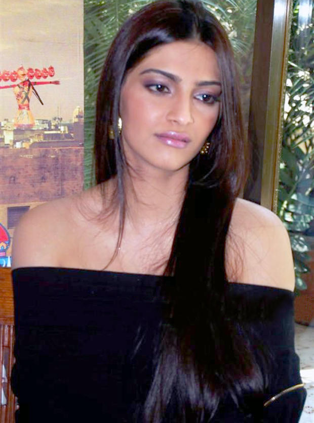 Sonam Kapoor Long Hair Sizzling Still