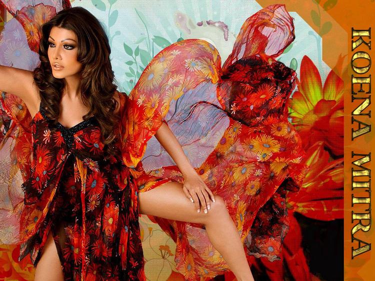 Koena Mitra Sexy Dressing Wallpaper