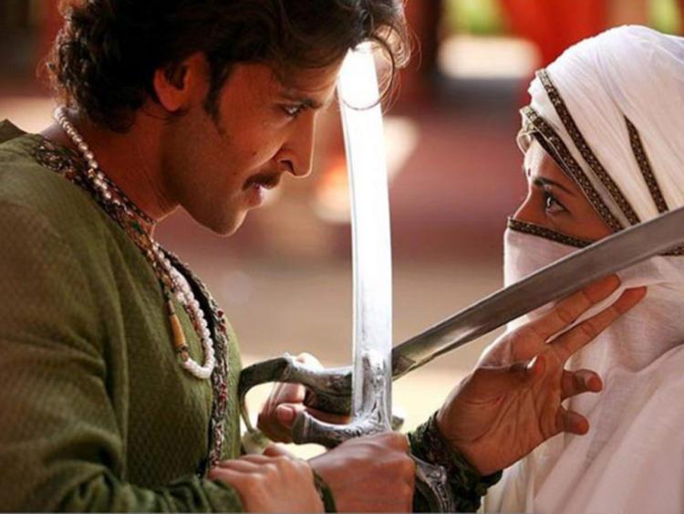 Aishwarya Rai and Hrithik Roshan Jodhaa Akbar Still