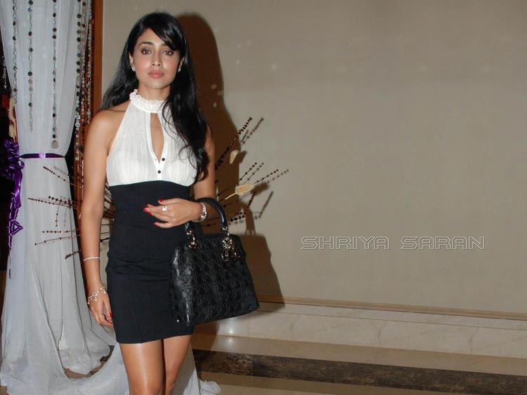 Shriya Saran Mini Dress Party Still