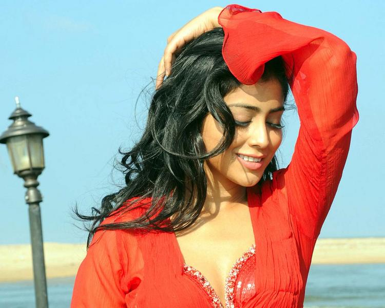 Shriya Saran Romantic Face Stunning Pic